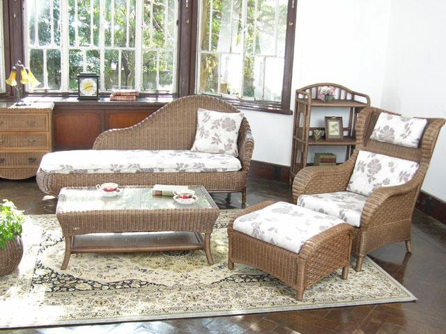 ラタン 家具